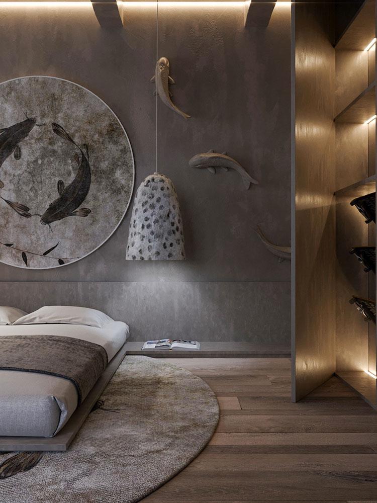 Idee per decorare la camera da letto n.21