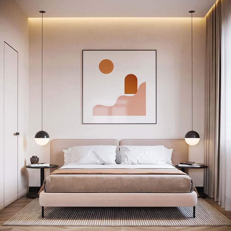 Idee per decorare la camera da letto n.30