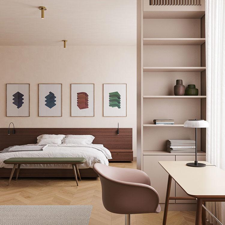 Idee per decorare la camera da letto n.35