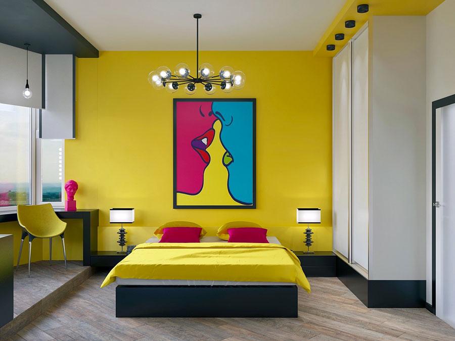 Idee per decorare la camera da letto n.40