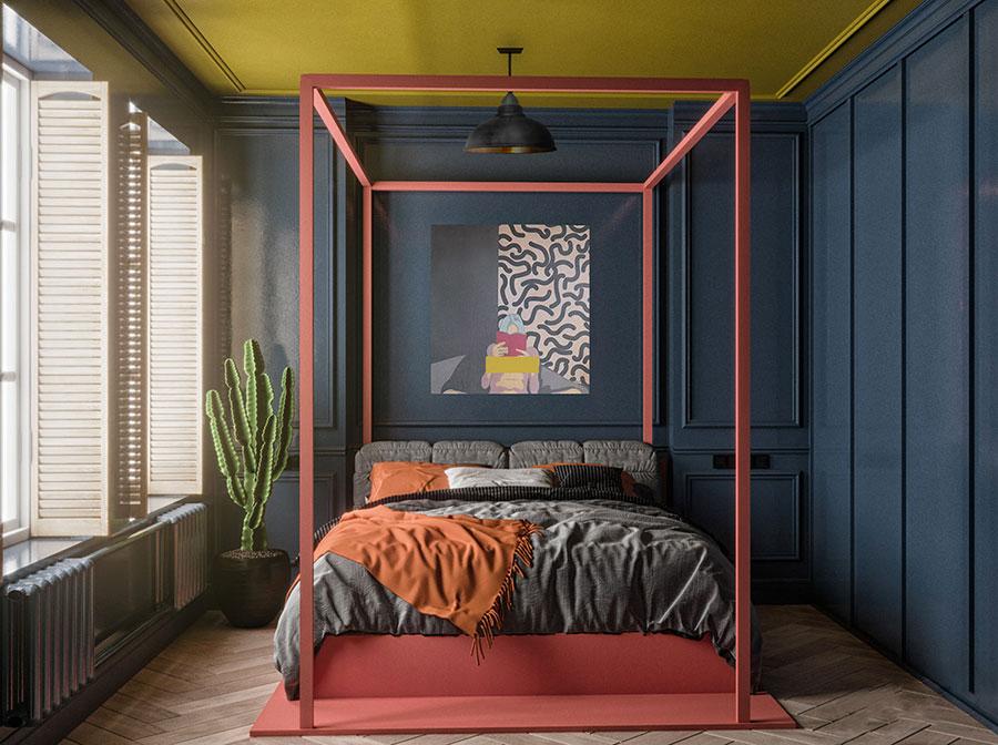 Idee per decorare la camera da letto n.41