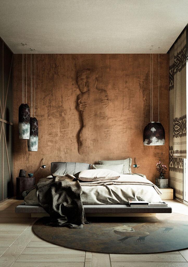 Idee per decorare la camera da letto n.43