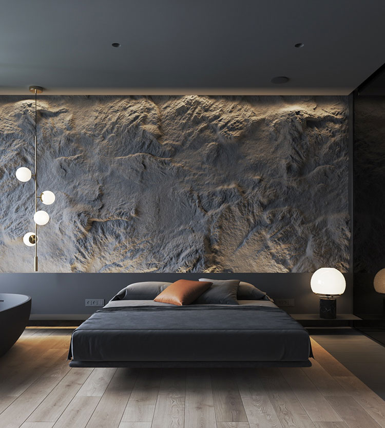 Idee per decorare la camera da letto n.44