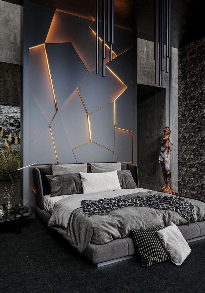 Idee per decorare la camera da letto n.47