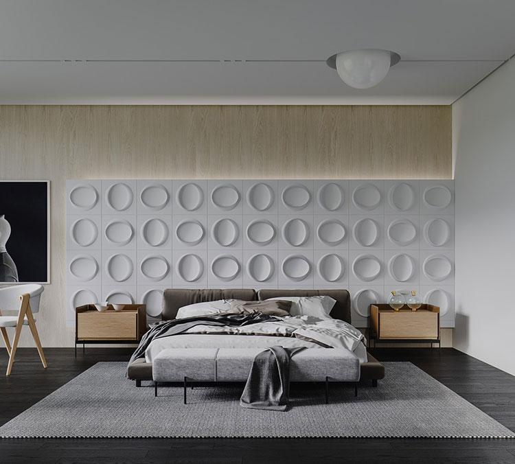 Idee per decorare la camera da letto n.50