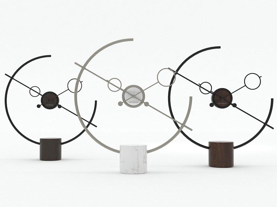 Modello di orologio da tavolo particolare 01