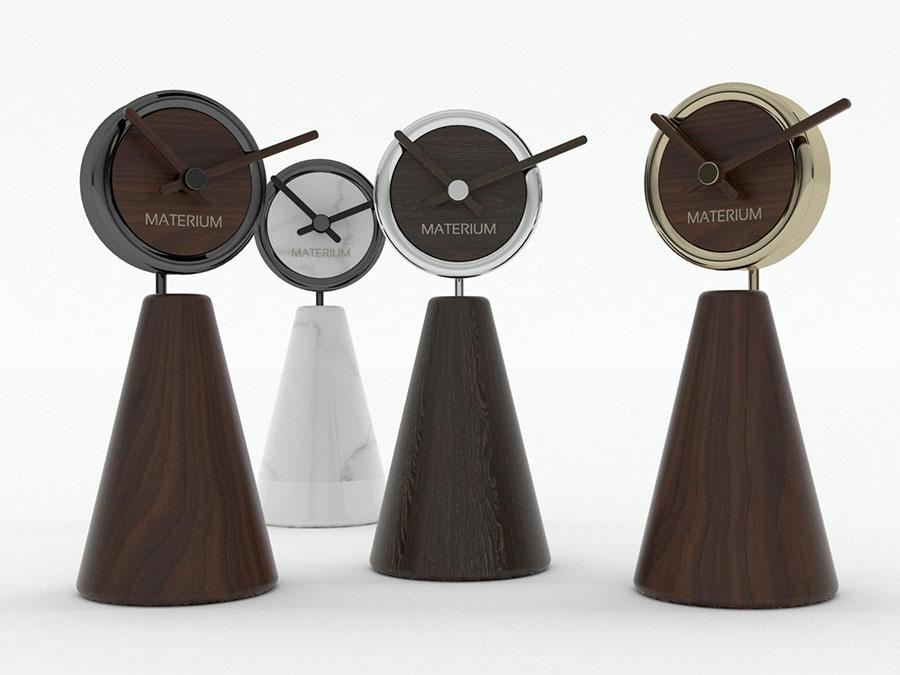 Modello di orologio da tavolo particolare 02