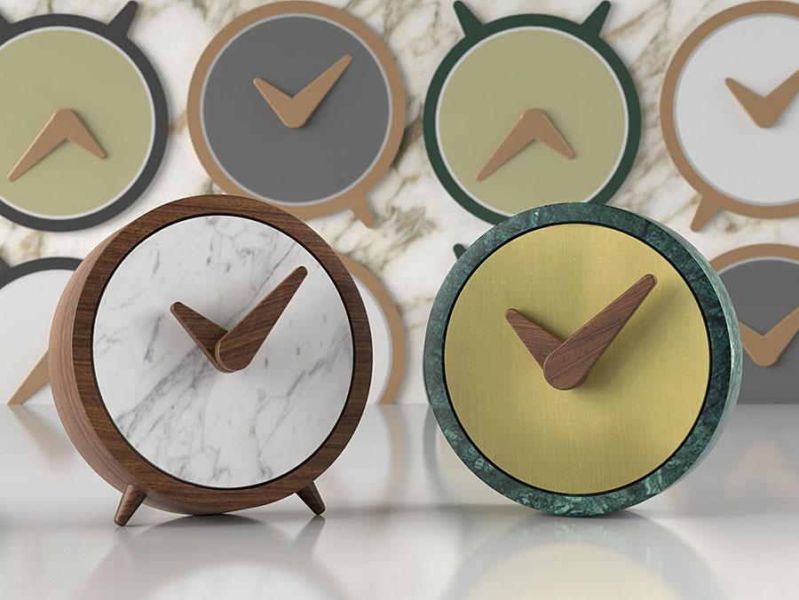 Modello di orologio da tavolo particolare 07
