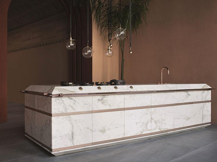 Piano cucina in marmo n.03