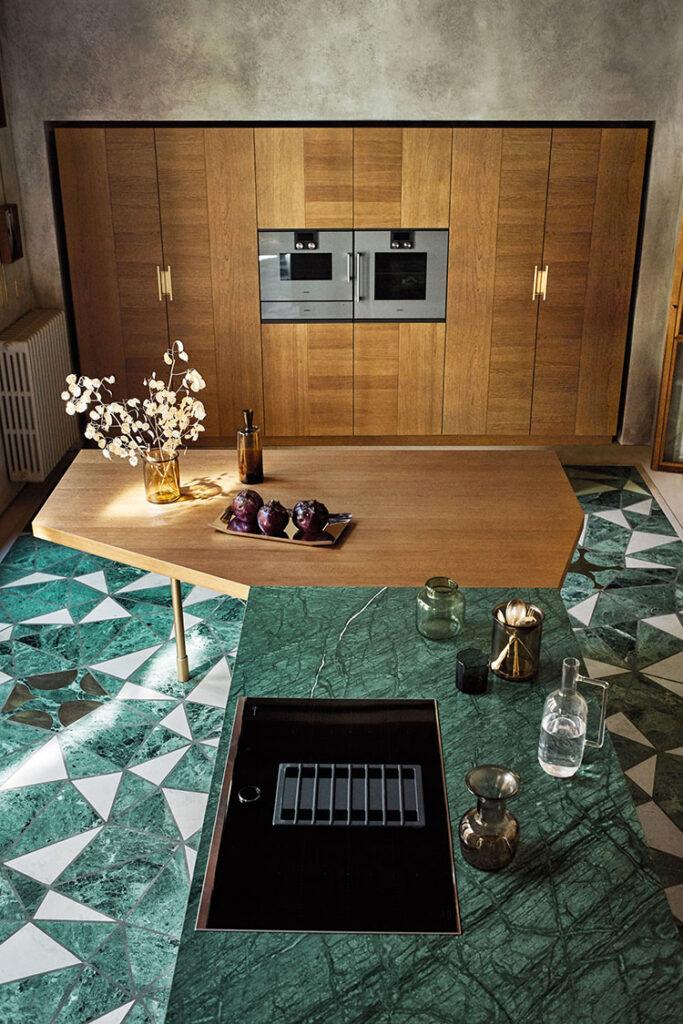 Piano cucina in marmo n.05