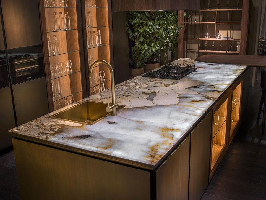 Piano cucina in marmo n.06