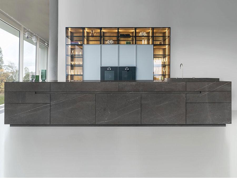 Piano cucina in marmo n.08