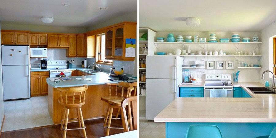 Come trasformare cucina classica in moderna