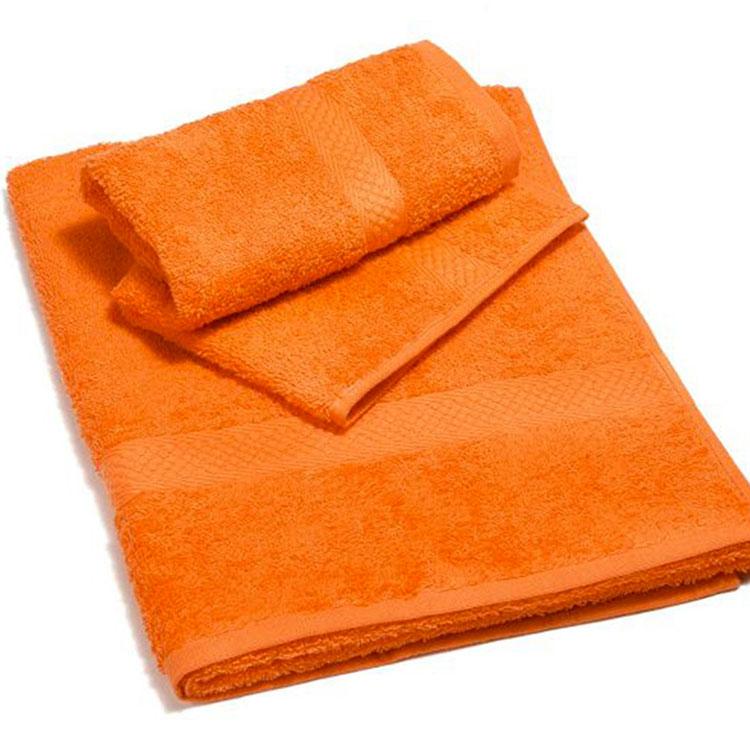 Modello di accessori per bagno arancione 03