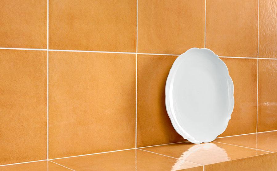 Rivestimenti per bagno arancione n.07