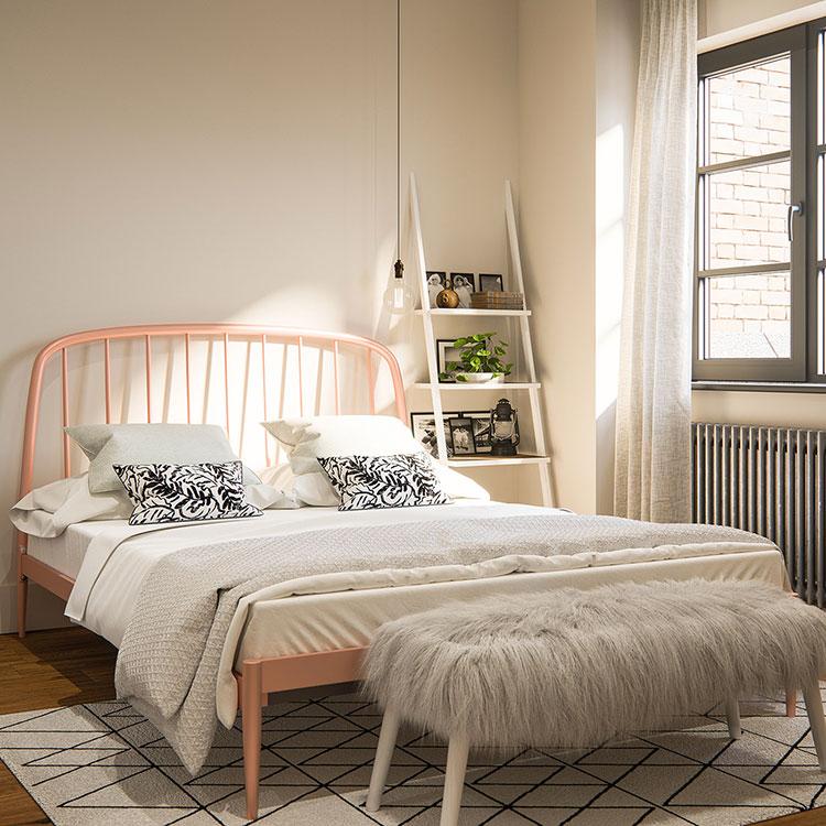 Camera da letto vintage moderna n.02