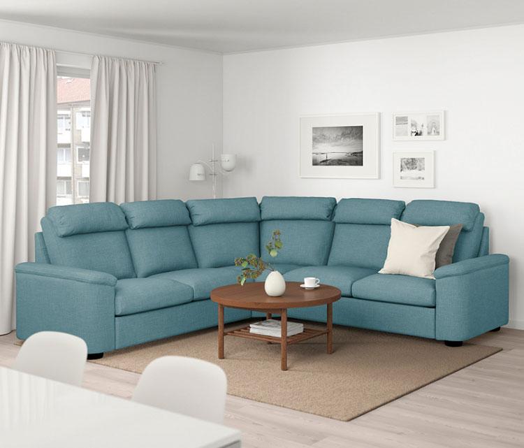 Modello di divano curvo Ikea n.01