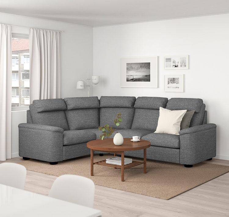 Modello di divano curvo Ikea n.03
