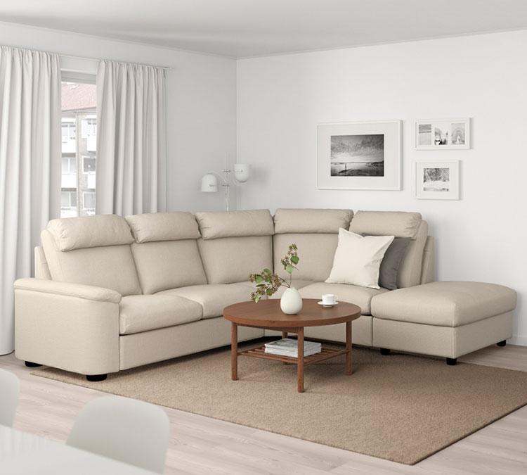 Modello di divano curvo Ikea n.04