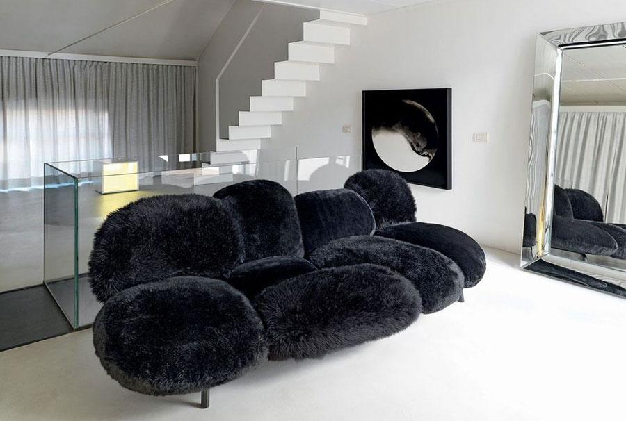 Modello di divano particolare n.02