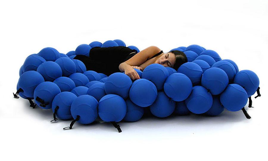 Modello di divano particolare n.06