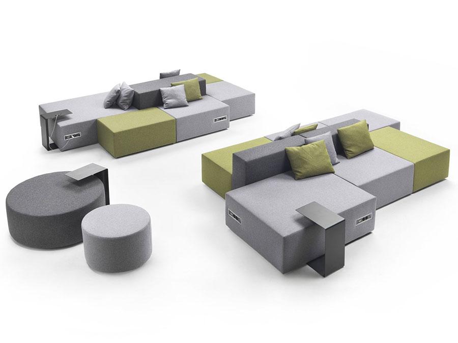 Modello di divano particolare n.10