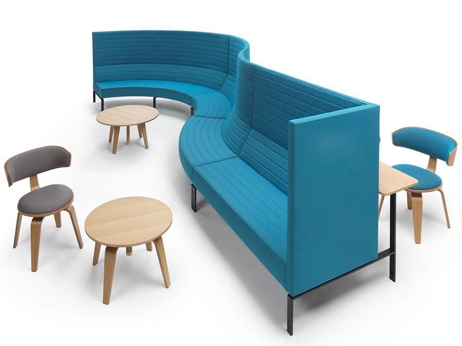 Modello di divano particolare n.11