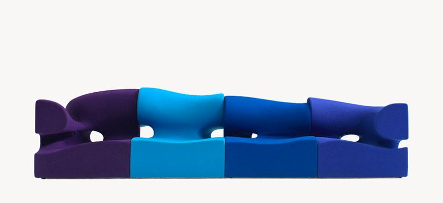 Modello di divano particolare n.15
