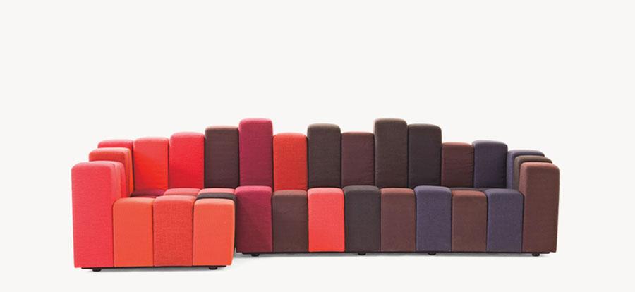 Modello di divano particolare n.16