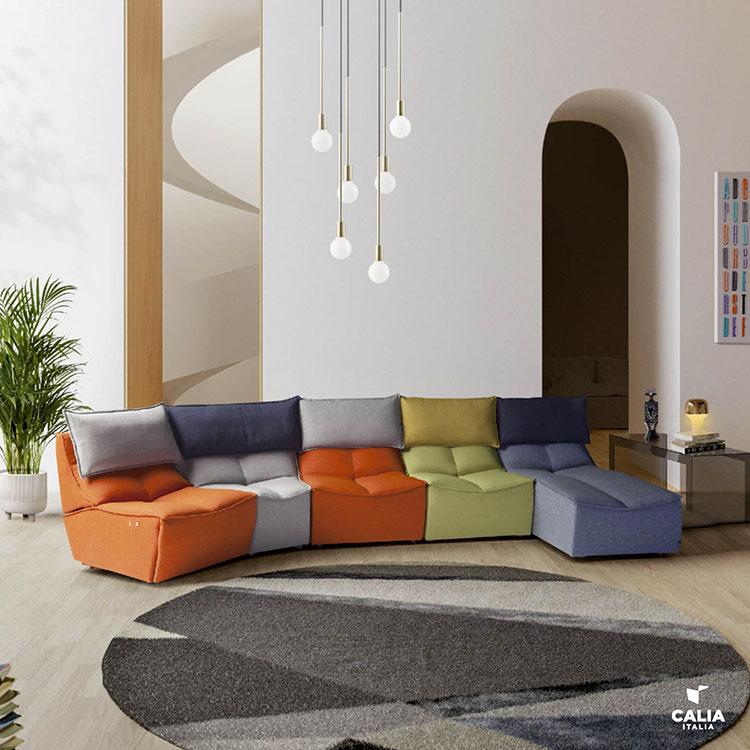 Modello di divano particolare n.19
