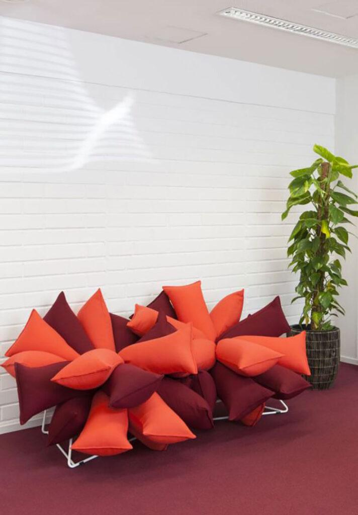 Modello di divano particolare n.20