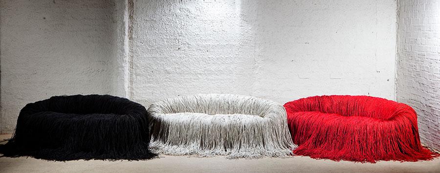 Modello di divano particolare n.21