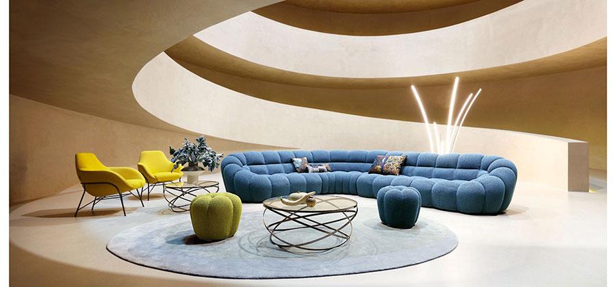 Modello di divano particolare n.26