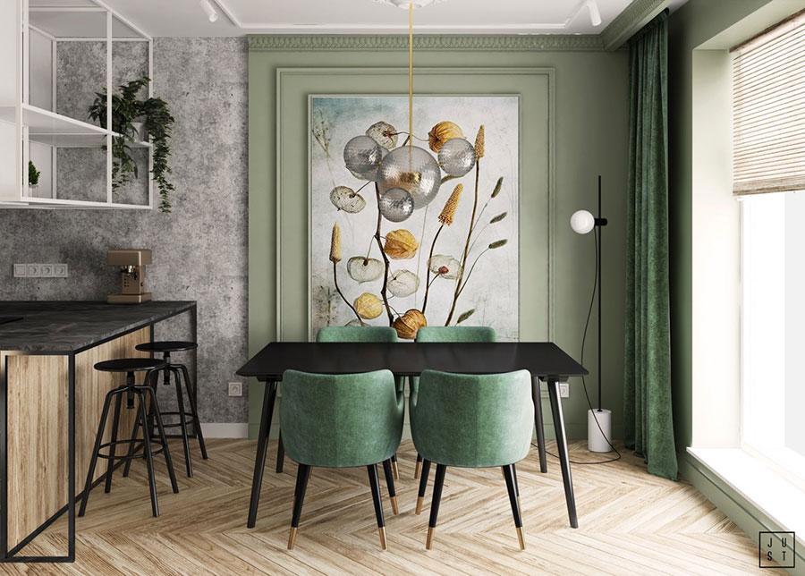 Idee per arredare una sala da pranzo in stile contemporaneo n.02