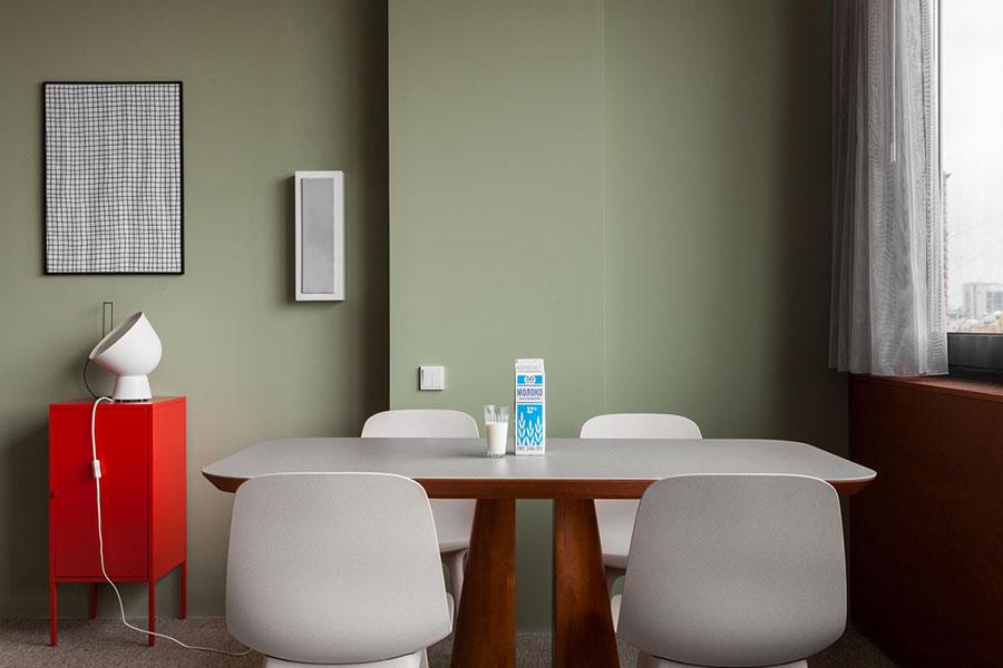 Idee per arredare una sala da pranzo in stile contemporaneo n.03