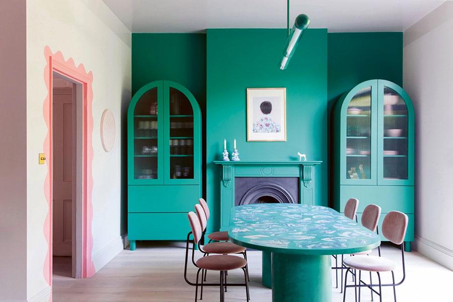Idee per arredare una sala da pranzo in stile contemporaneo n.04