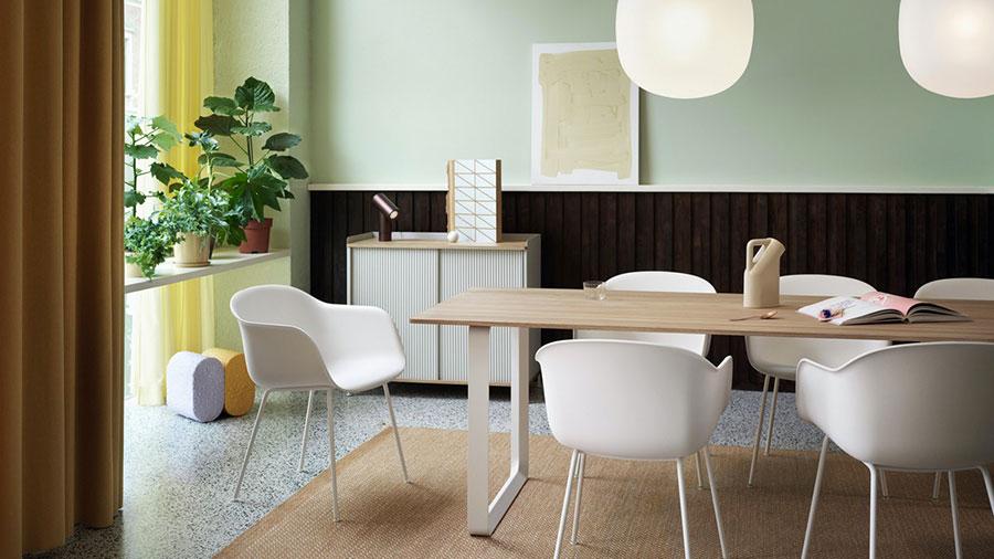 Idee per arredare una sala da pranzo in stile contemporaneo n.05