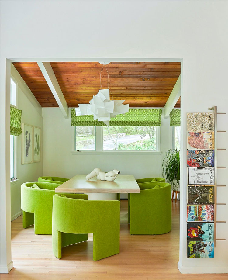 Idee per arredare una sala da pranzo in stile contemporaneo n.07