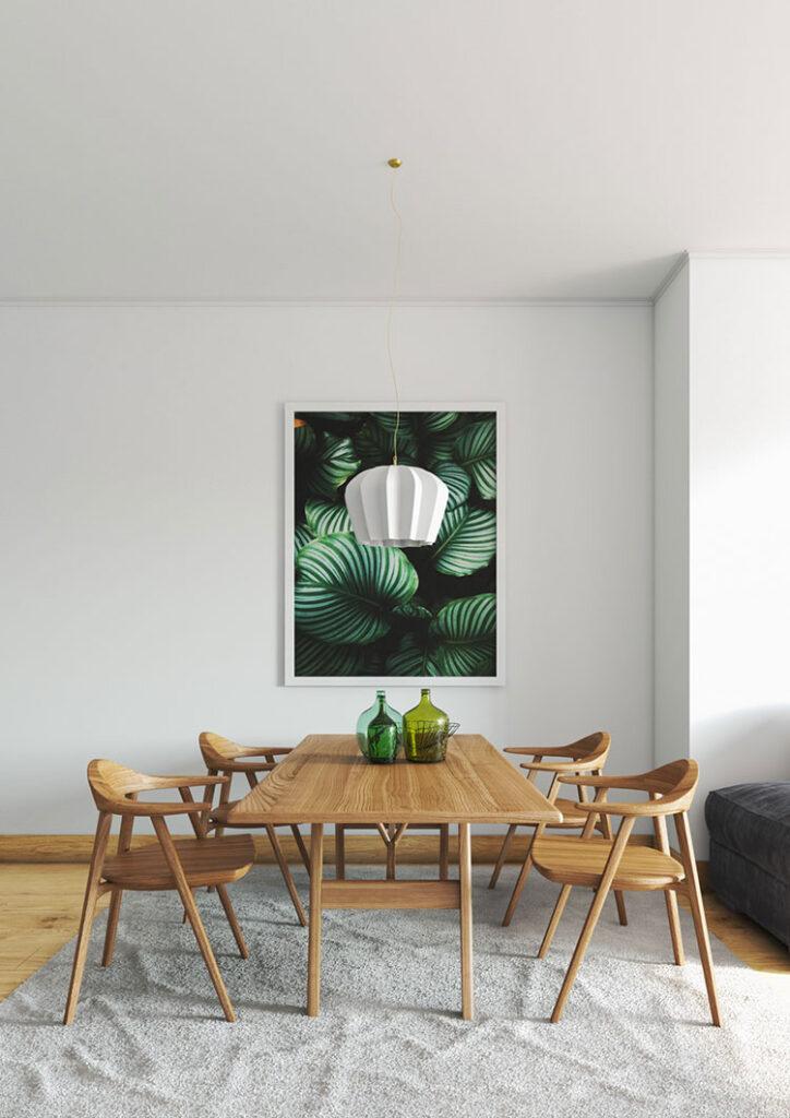 Idee per arredare una sala da pranzo in stile contemporaneo n.12