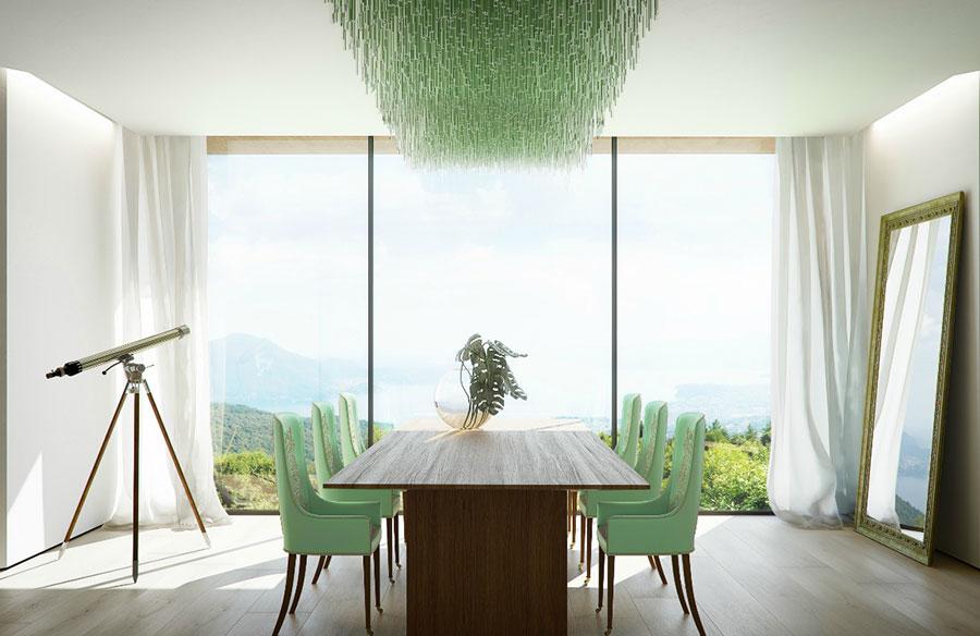Idee per arredare una sala da pranzo in stile contemporaneo n.13