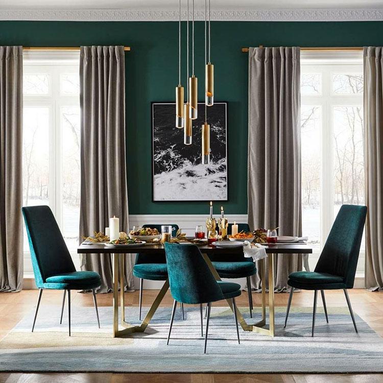 Idee per arredare una sala da pranzo in stile contemporaneo n.15