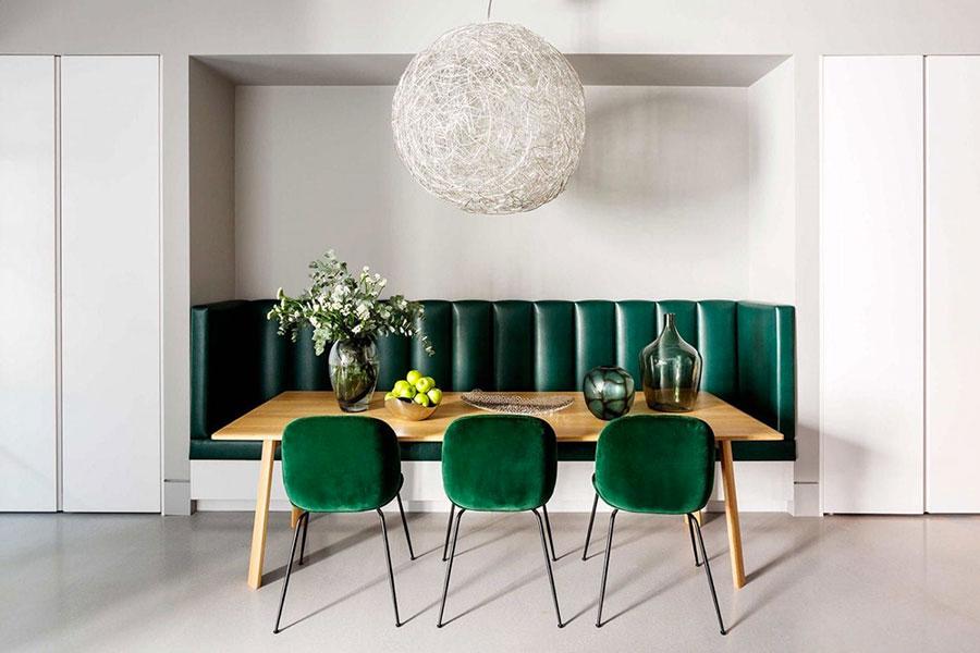 Idee per arredare una sala da pranzo in stile contemporaneo n.18