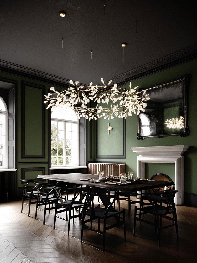 Idee per arredare una sala da pranzo in stile contemporaneo n.21