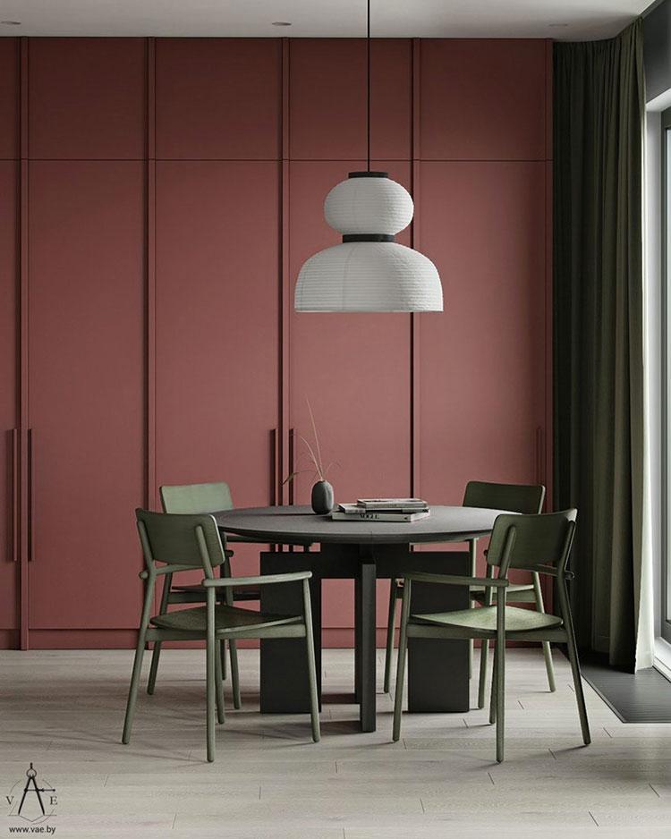 Idee per arredare una sala da pranzo in stile contemporaneo n.23