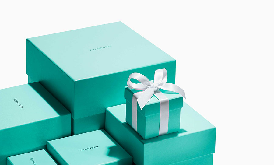 Scatola Tiffany Blue Box