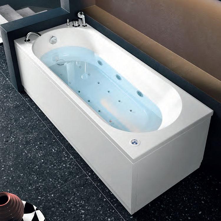 Modello di vasca da bagno piccola da 120 cm n.03