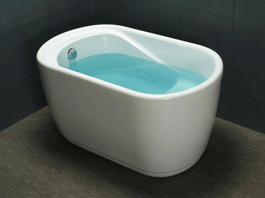 Modello di vasca da bagno piccola da 120 cm n.06