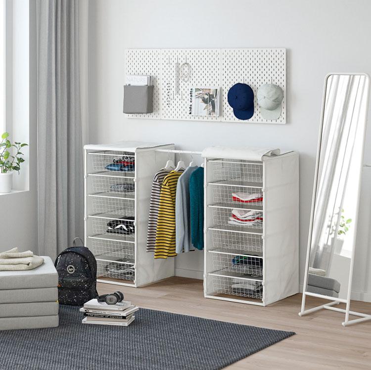 Armadio aperto senza ante Ikea n.09