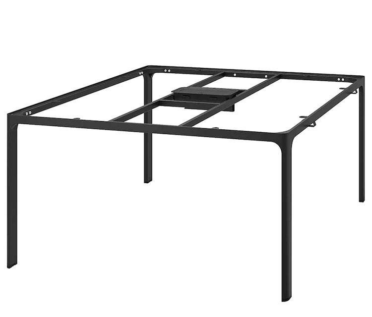 Struttura per tavolo in cristallo Ikea n.01