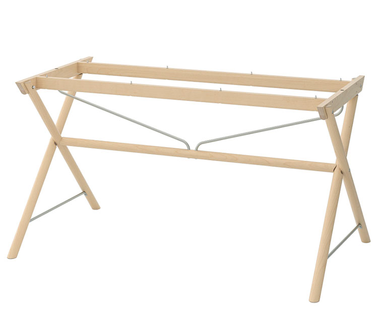 Struttura per tavolo in cristallo Ikea n.04